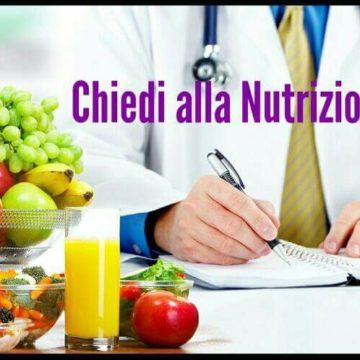 Nuovo servizio: Chiedi alla Nutrizionista!