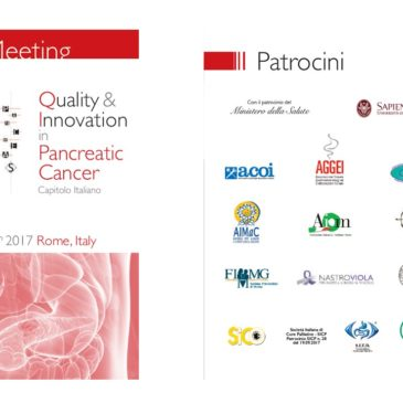 QUALITY & INNOVATION IN PANCREATIC CANCER – ROMA 18 NOVEMBRE 2017