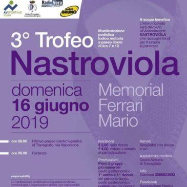 3° Trofeo Nastro Viola – 16 Giugno 2019 Travagliato (BS)