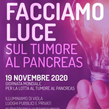 GIORNATA MONDIALE DEL TUMORE AL PANCREAS – 19 NOVEMBRE 2020